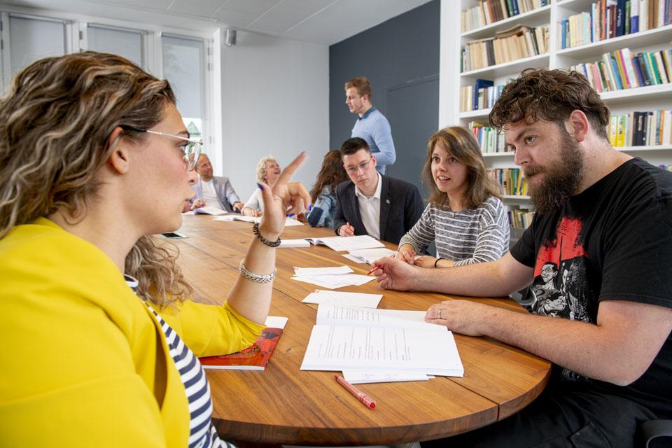 Taalbewustzijn in het lesprogramma