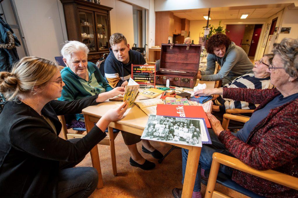 Frysktalige aktiviteiten foar âlderein
